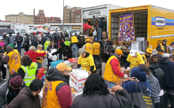 District 20-K1 and Massachusetts Lions Partner for Sandy Relief